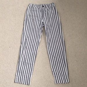 Brandy Melville Striped Pants